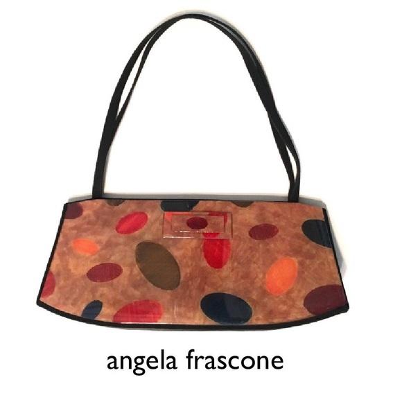 ANGELA FRASCONE Pop Art Resin Epoxy Handbag